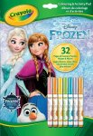 Crayola Coloring & Activity Pad with Markers, Frozen