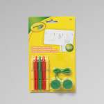 CRAYOLA® CRAYON CLIP WALL DISPLAY