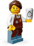 LEGO Movie Minifigur Larry The Barista