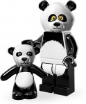LEGO Movie Minifigur Panda Suit Guy