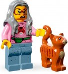 LEGO Movie Minifigur Mrs Scratchingpost