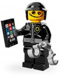 LEGO Movie Minifigur Scribble Face/Bad Cop