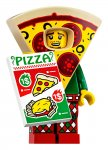LEGO® Minifigur 71025 Pizza Costume Guy