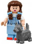 LEGO Minifigur 71023 Dorothy Gale & Toto
