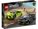 LEGO® Speed Champions 76899 Formula E Panasonic Jaguar Racing GEN2 car & Jaguar I-PACE eTROPHY