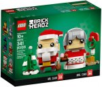 LEGO® BrickHeadz 40274 Mr. & Mrs. Claus