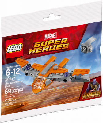 LEGO Super Heroes The Guardians Ship 30525