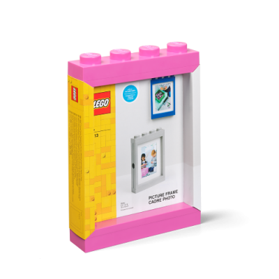 LEGO PICTURE FRAME, rosa