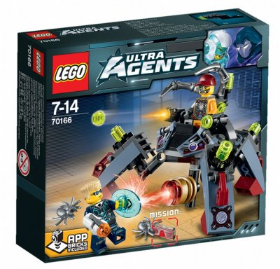LEGO Ultra Agents 70166 Spyclops infiltration