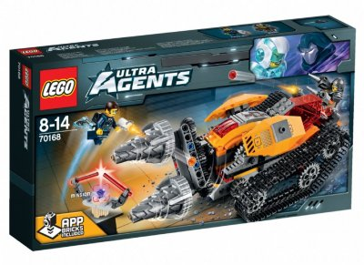 LEGO Ultra Agents 70168 Drillex diamantuppdrag