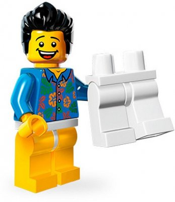 LEGO Movie Minifigur Where are my pants guy