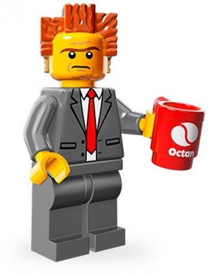 LEGO Movie Minifigur President/Lord Business