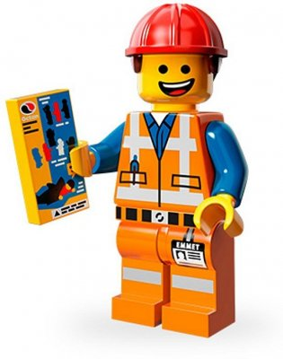 LEGO Movie Minifigur Emmet
