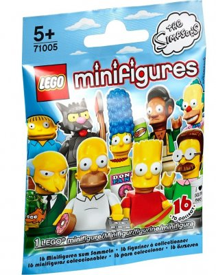LEGO Minifigur serie The Simpsons