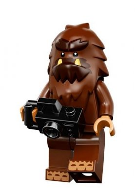 LEGO Minifigur serie 14 Bigfoot