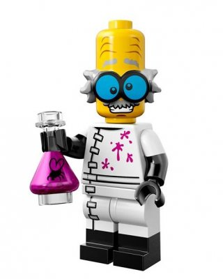 LEGO Minifigur serie 14 Mad Scientist