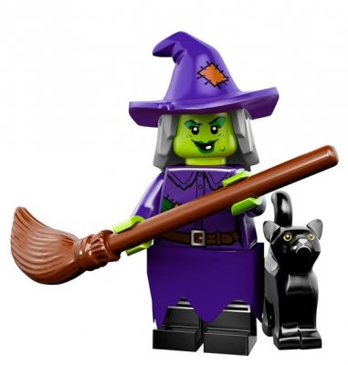 LEGO Minifigur serie 14 Crazy Witch