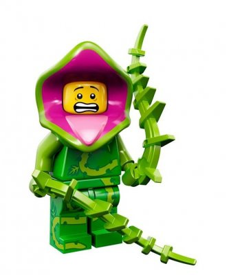 LEGO Minifigur serie 14 Man-Eating Plant