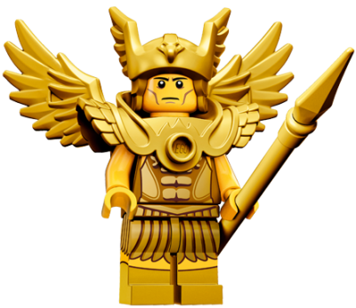 LEGO Minifigur 71011 serie 15 Winged Battle Warrior