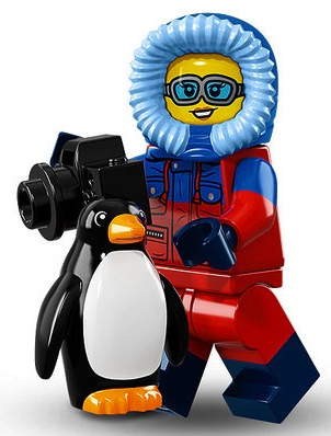LEGO Minifigur 71013 Wildlife Photographer