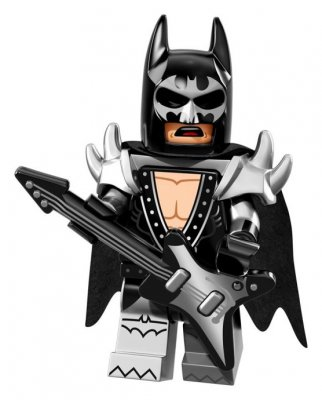 LEGO® Minifigur Glam Metal Batman
