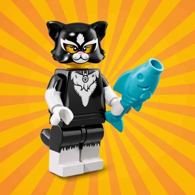 LEGO® Minifigur 71021 Cat Costume Girl