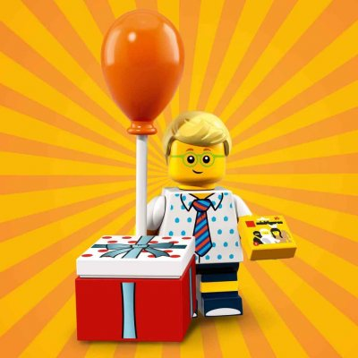 LEGO® Minifigur 71021 Birthday Party Boy