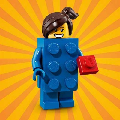 LEGO® Minifigur 71021 Brick Suit Girl