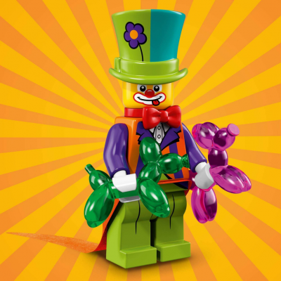 LEGO® Minifigur 71021 Party Clown