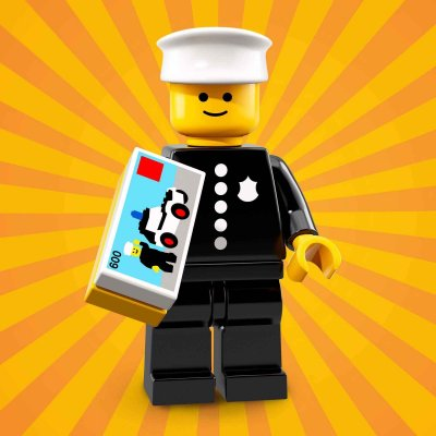 LEGO® Minifigur 71021 Classic Police Officer