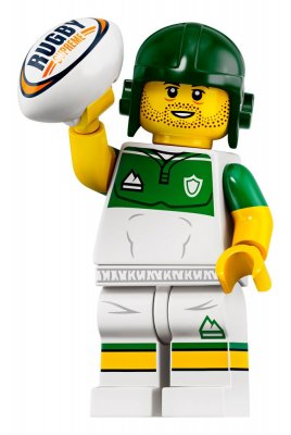 LEGO® Minifigur 71025 Rugby Player