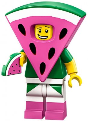 LEGO Minifigur 71023 Watermelon Dude