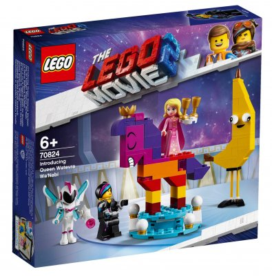 LEGO® MOVIE II 70824 Vi presenterar drottning Wembryrsi Wa'Nabi