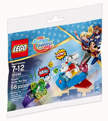 LEGO DC Super Heroes Girls Krypto saves the day