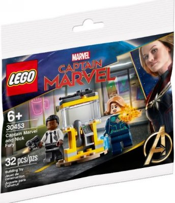LEGO Super Heroes 30453 Captain Marvel and Nick Fury